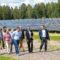 Крупнейший в Эстонии комплекс солнечных электростанций начал работу в Пярну