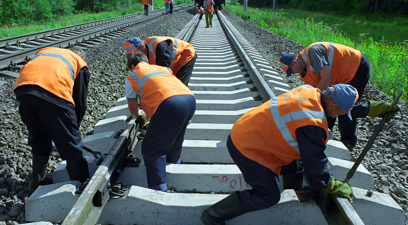 Масштабный капитальный ремонт на участке железной дороги Лелле-Тюри