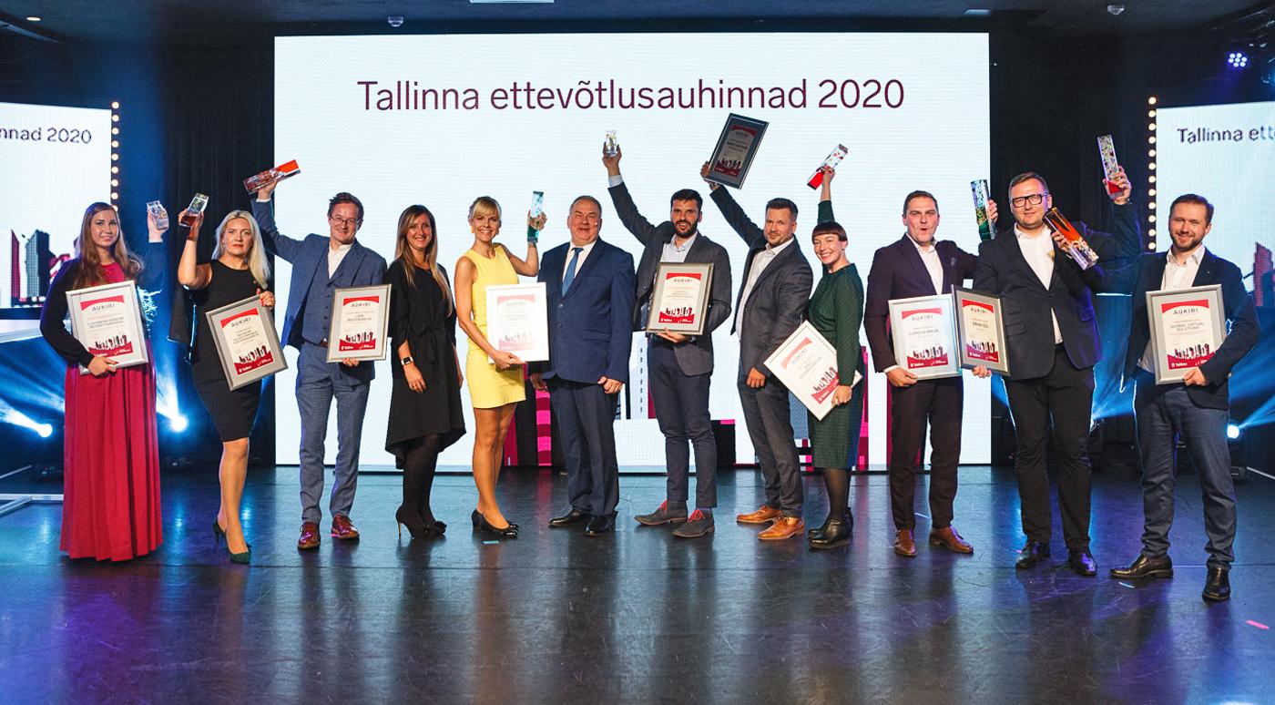 Ettevõtluspäev: Названы победители таллиннского конкурса предпринимателей