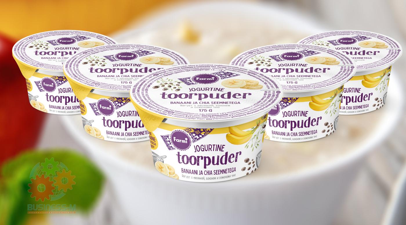 Новинка: йогурты с овсянкой  от Farmi восполнят нехватку клетчатки