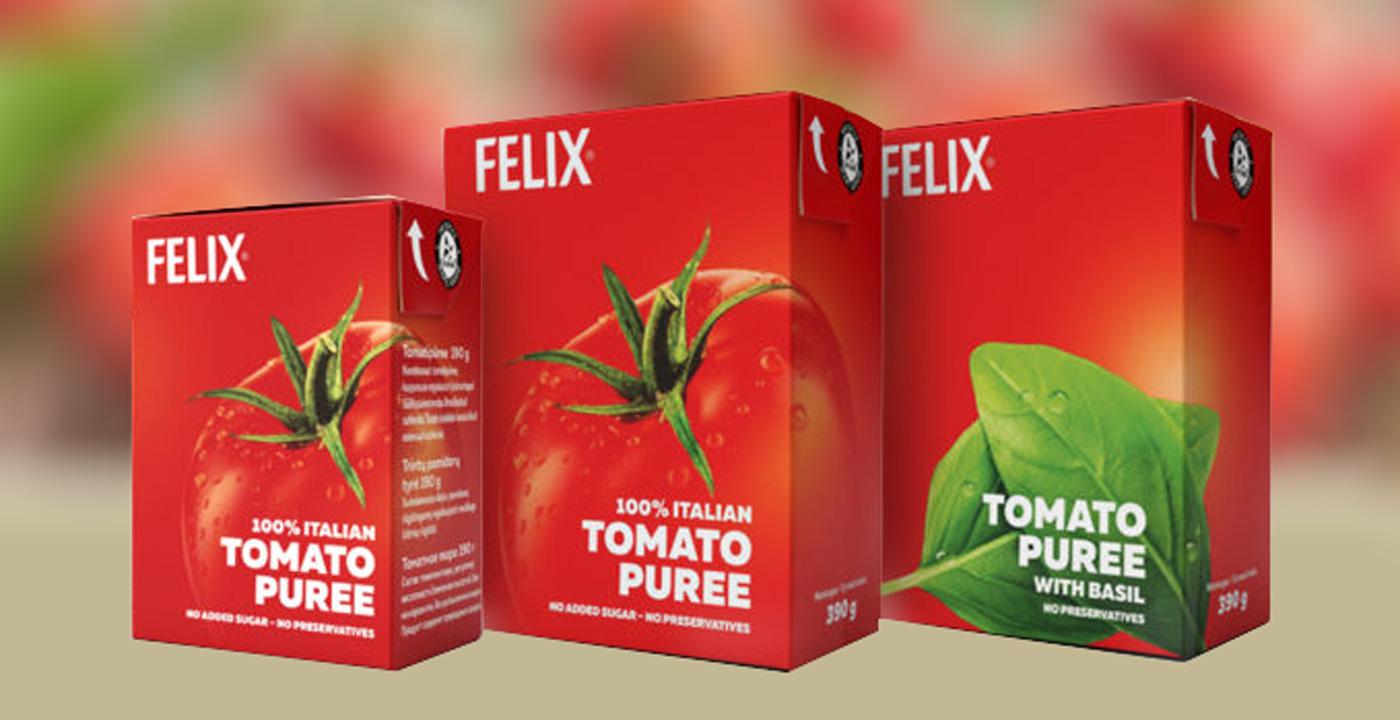 Новинки от Felix: томатное пюре – вкусно, полезно и удобно