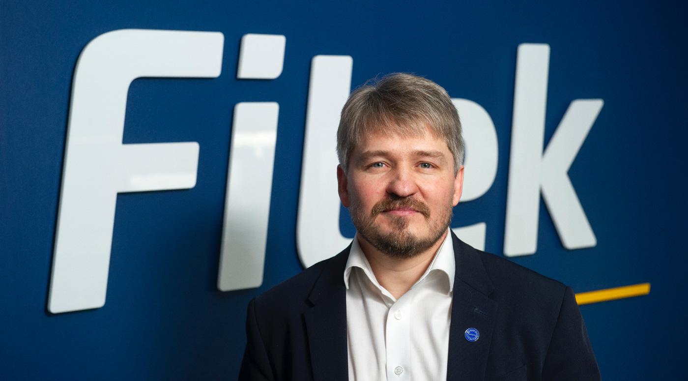 Новые назначения: Андрус Каарельсон – исполнительный руководитель Fitek