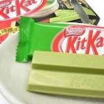 Впервые в Эстонии: натурально зеленый шоколад KitKat с чаем матча
