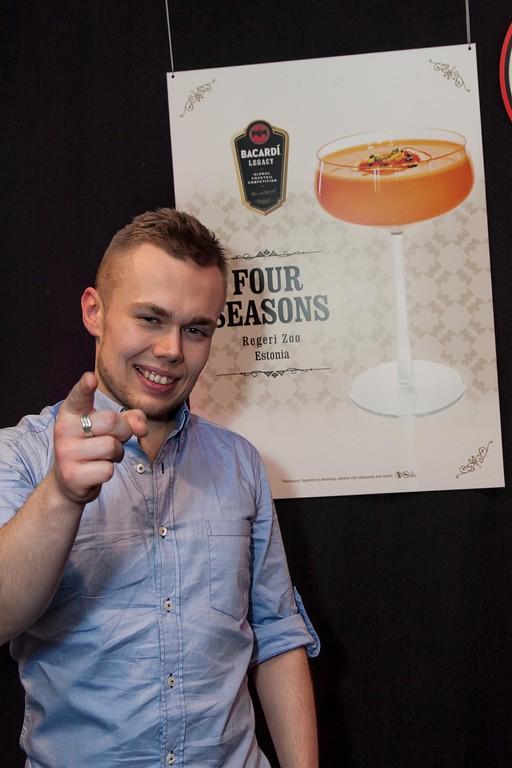 От Эстонии на BacardiLegacy поедет бармен RegeriZoo