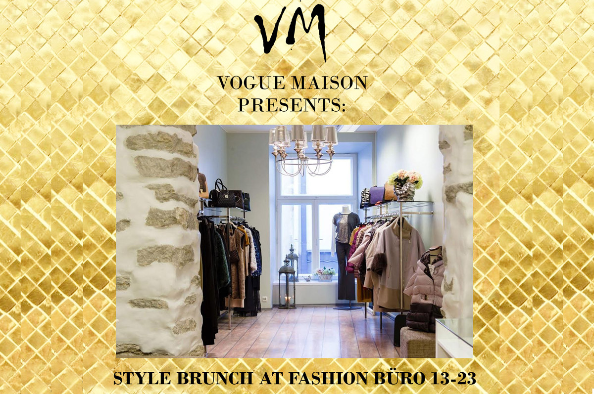 Модный бранч от проекта Vogue Maison