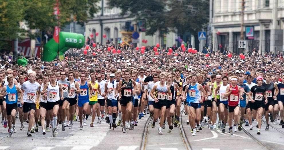 На  марафоне SEB — рекордное количество участников