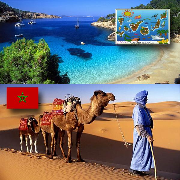 Канарские острова и Марокко — cамые популярные