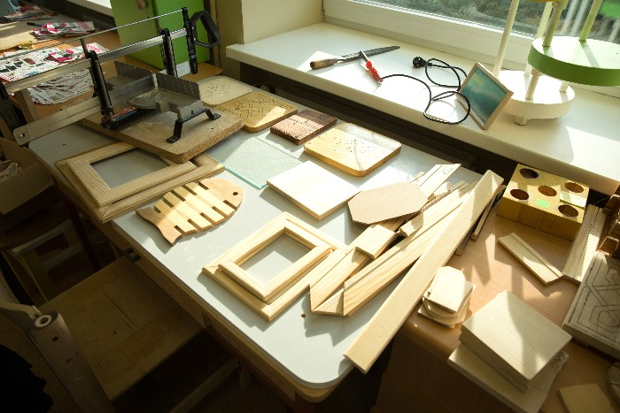Столярная мастерская в опорном центре«Мериметса»