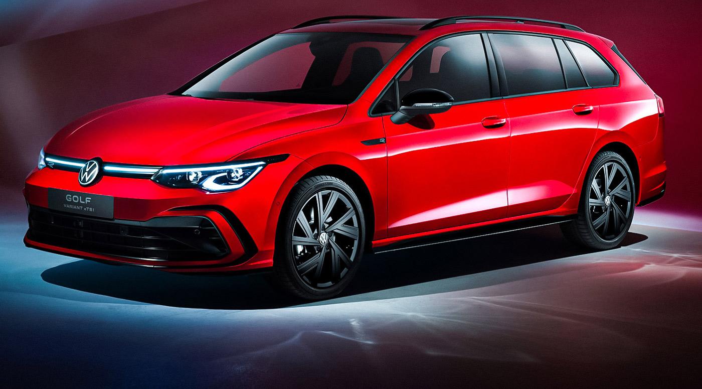 Volkswagen Golf Variant — новый, еще более просторный вариант