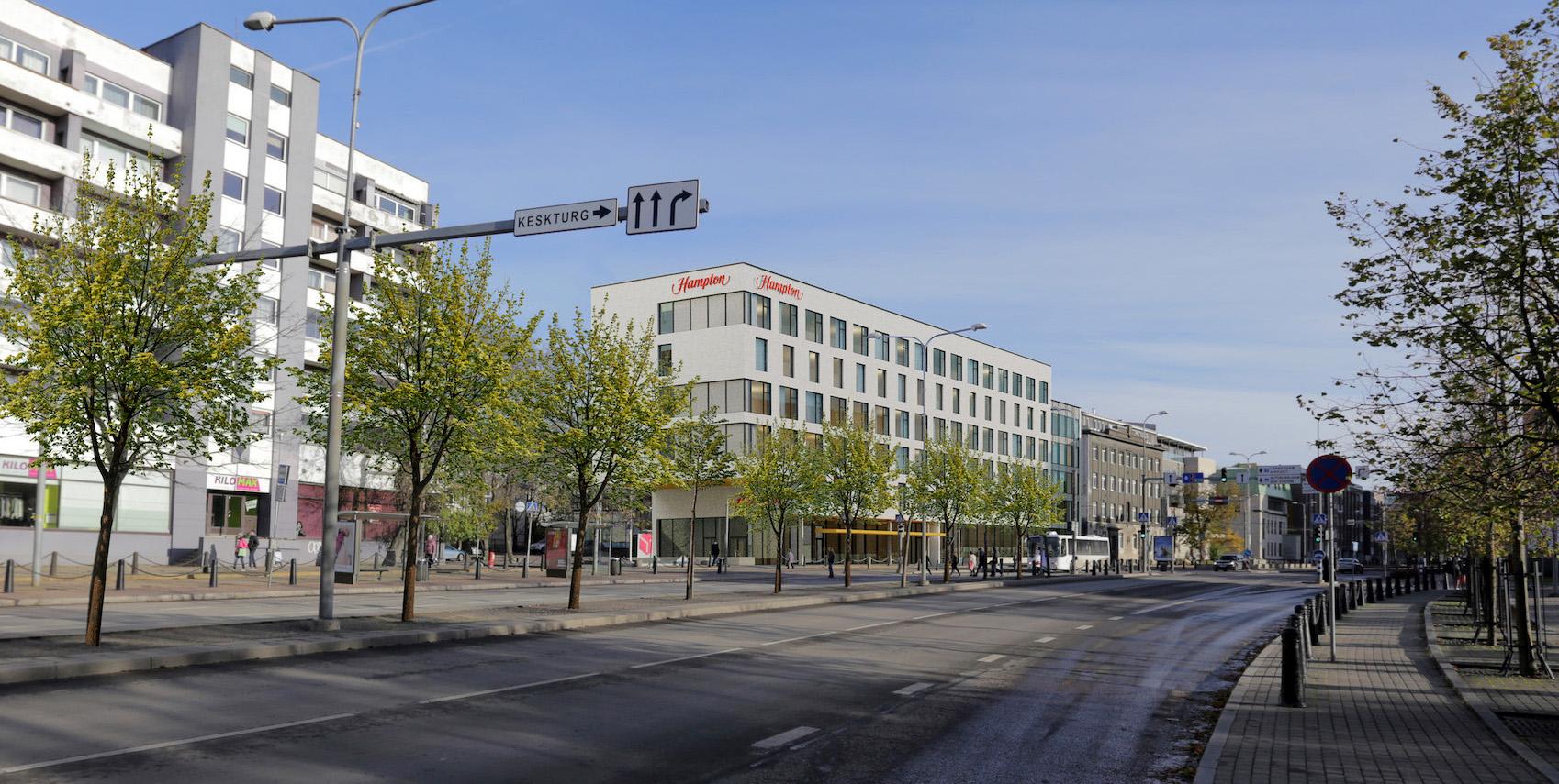 Сеть Hilton планирует открыть в Таллинне новый отель