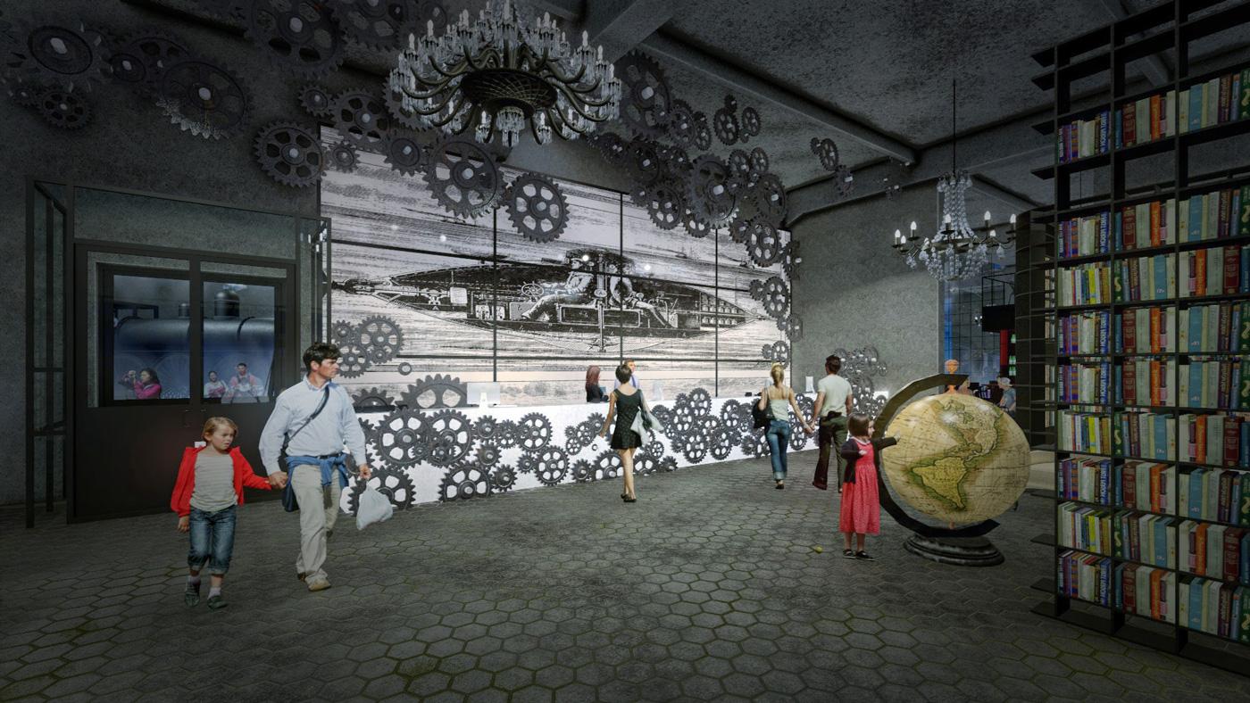 PROTO – центр виртуальной реальности в Noblessner