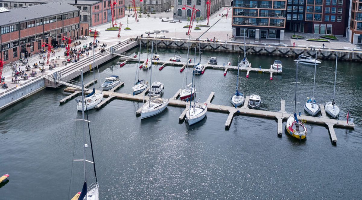 Порт Ноблесснера: доступна мобильная парковка для яхт и малых судов