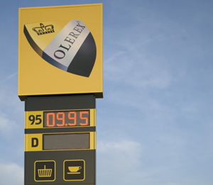 Olerex: Приятный рекорд цены на топливо