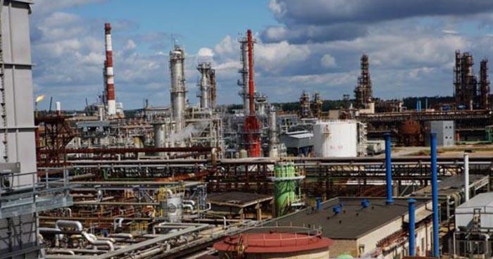 Перерабатывающий завод Orlen в Мажейкяй