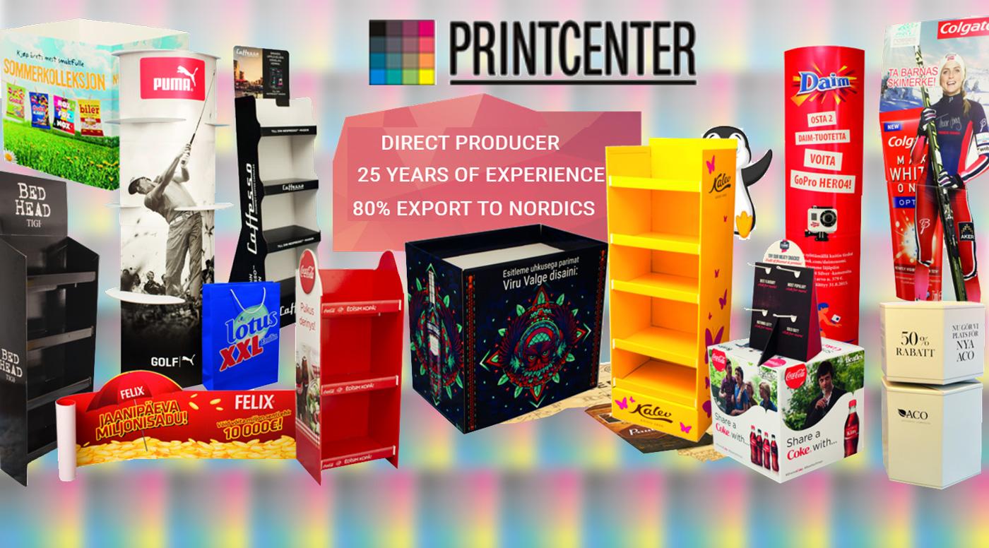 Оборот Printcenter Eesti за прошлый год составил 6 миллионов евро