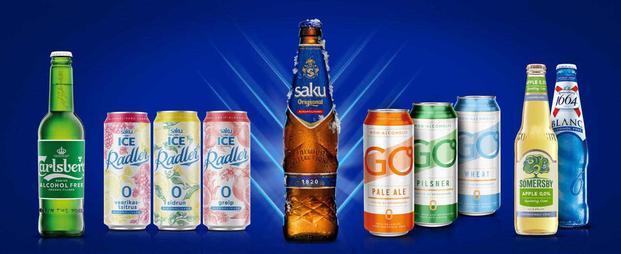 Saku Õlletehas: Ассортимент безалкогольного пива пополнили Originaal и Pale Ale