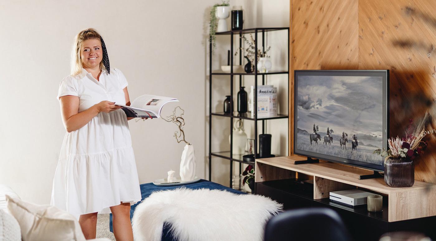 Дизайнер Мерлин Мийдо: в моде — декоративные панели за телевизором