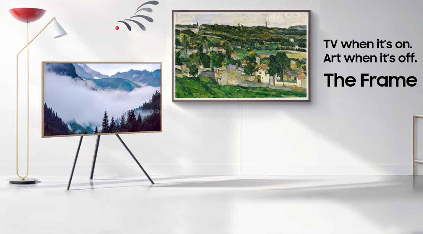 Работы Лувра пополнили подборку картин для арт-телевизора Samsung