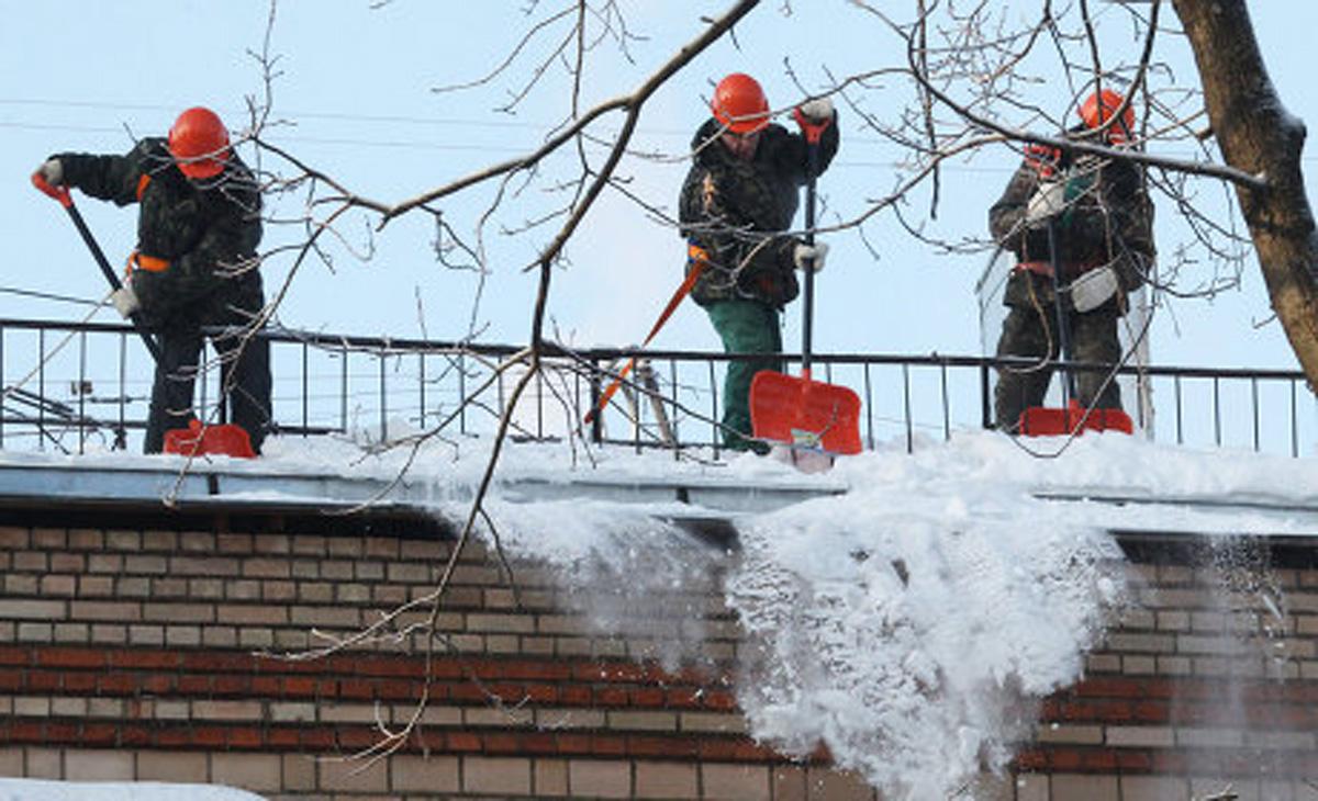 ERGO: Перед оттепелью с крыш необходимо убрать снег