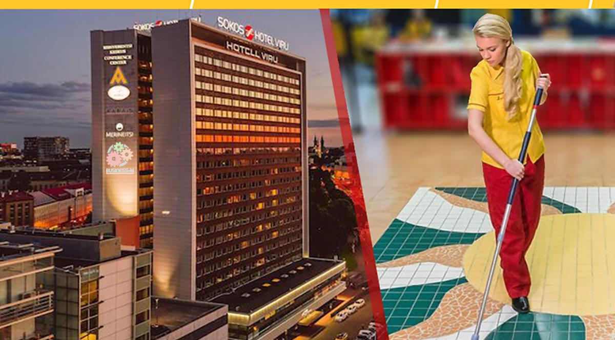 SOL Baltics в отеле Viru будет оказывать клининговые услуги
