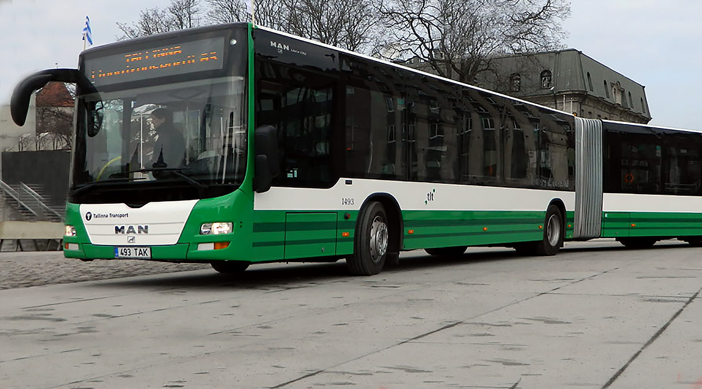 В Таллинне общественный транспорт бесплатный. Для всех!