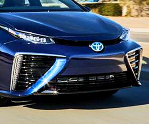 ToyotaMirai — водородный электромобиль