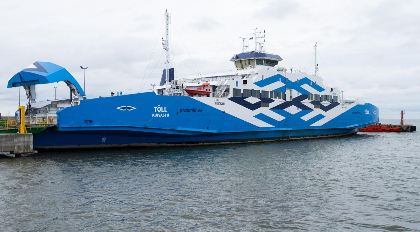 Первое в Эстонии гибридное судно Tõll приступило к перевозкам