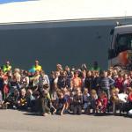 Volvo Estonia детям: «ОСТАНОВИСЬ, ПОСМОТРИ, ПОМАШИ»