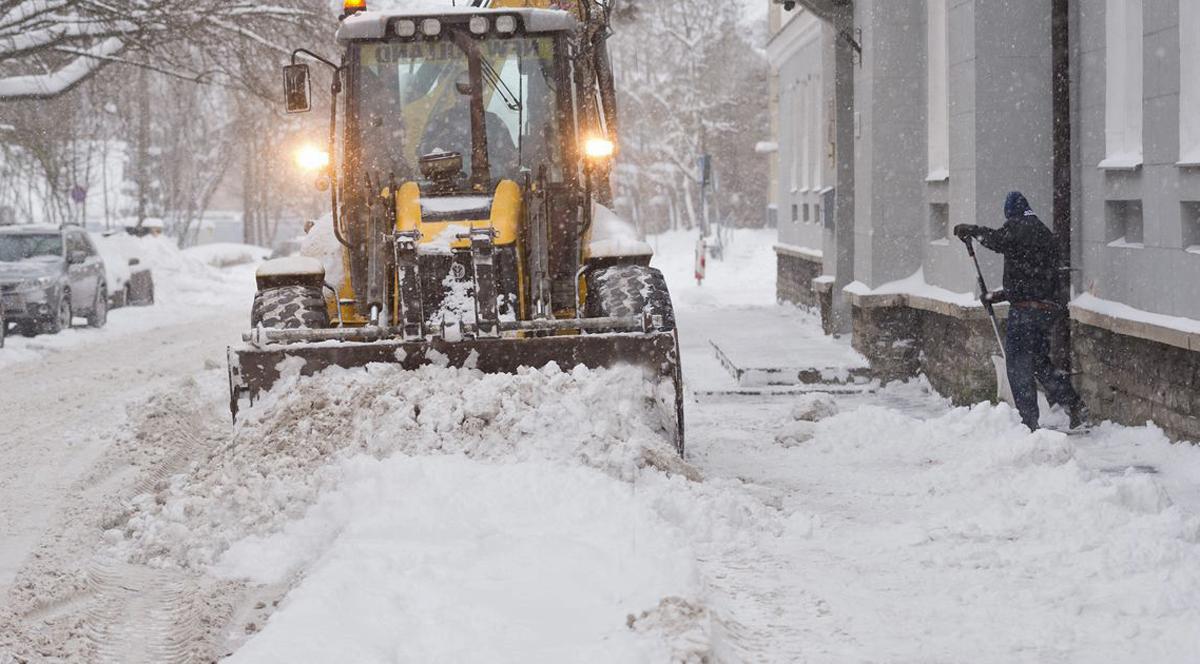 Таллинн: городские службы готовы к предстоящим снегопадам
